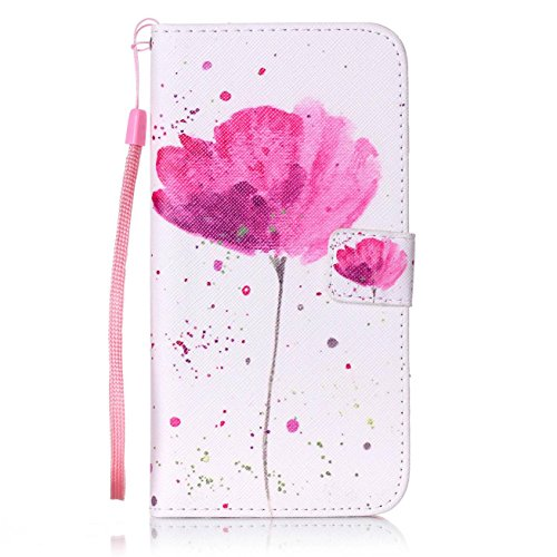 Price comparison product image iPhone 7 Plus Case, Firefish [Kickstand] Flip Folio Wallet Cover Anti-Scratches Protective Shell with Cards Slots Magnetic Closure for Apple iPhone 7 Plus
