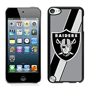 Oakland Raiders 03 Black Individual Custom iPod Touch 5 Case