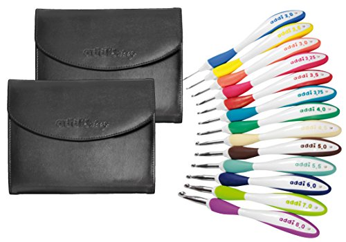 addi Swing Hooks - Set of 13 Hooks In Original addi Leather Cases by addi
