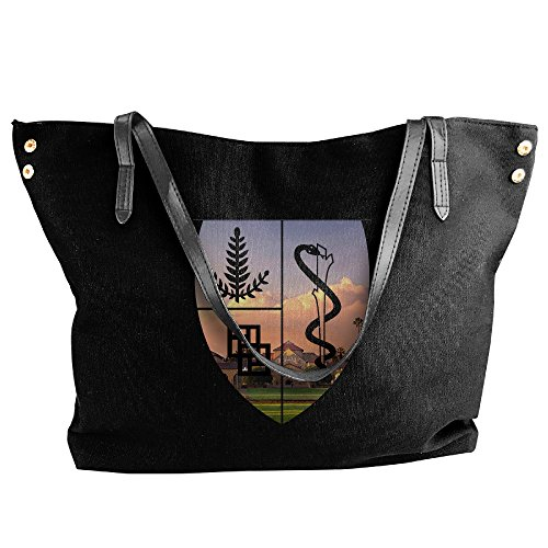 Stanford University Shoulder Bag For Women Black