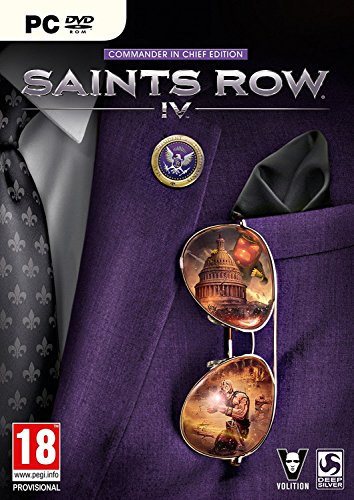 Saints Row IV: Commander In Chief Edition (PC DVD) (Saints Row 4 Commander In Chief Edition)