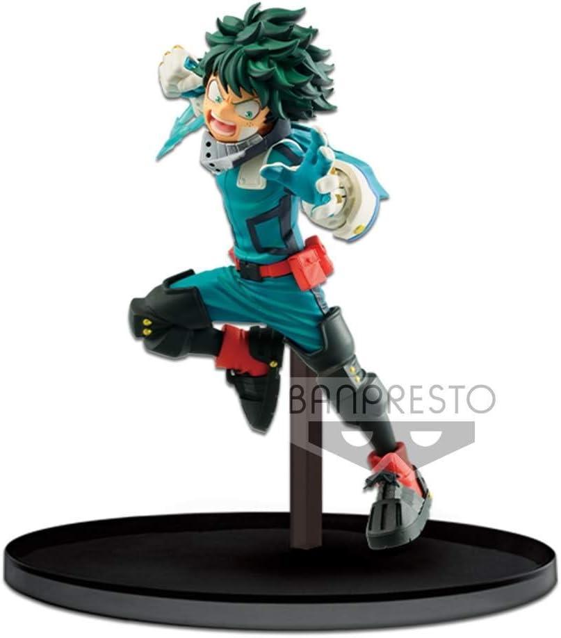 My Hero Academia MOVIE Heroes Rising VS VILLAIN DEKU Izuku Midoriya figure 11cm