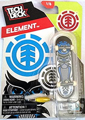 fccac4fbac004 Amazon.com : Tech Deck Element Nyjah Huston Fingerboard TD Element ...