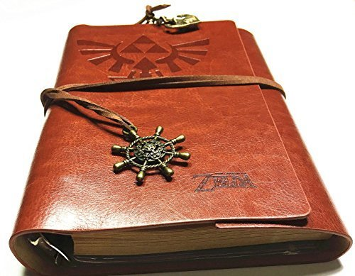 Vintage PU Leather Notebook for Diary, Travel journal and...