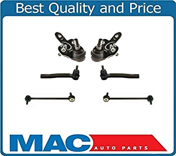 New Lower Ball Joints Tie Rods for 6pc Lexus CT200H 11-16 for Toyota Prius 10-15