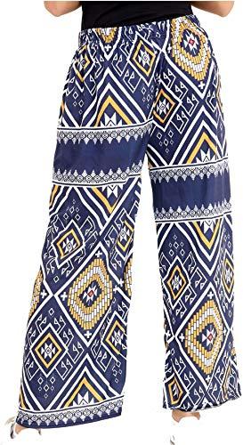 Pantaloni LIFE Donna Multi Print LTD FASHION Navy Aztec REAL qxgFUx