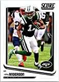 2018 Score #242 Robby Anderson New York Jets Football Card