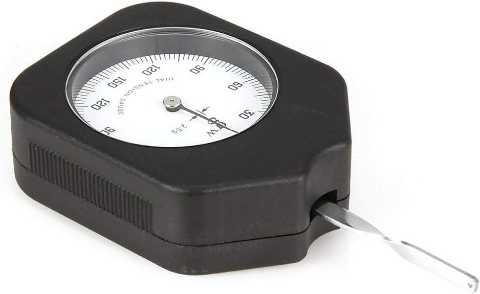 Ballylelly 150g Analog Tensiómetro Precio con el Puntero Sola Rueda de tensión del calibrador del Metro Tester Tabular dinamómetro Metros tensión Lateral