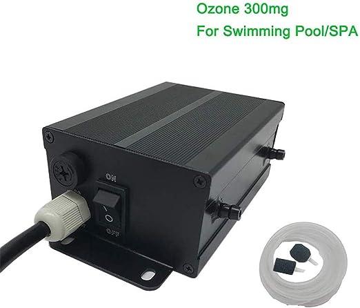YESAN Generador de ozono Comercial - 300 MG/h Purificador de Aire Profesional, Ozonizador | Filtro de Aire para Trabajo Pesado, Desodorante y esterilizador | Purificador de Agua SPA/Piscina: Amazon.es: Hogar