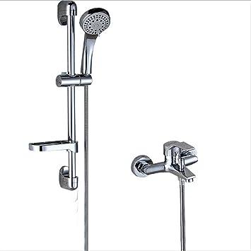 ZK & LSA cuarto de baño ducha de lluvia Riego Set ducha Lifter Fácil ducha latón