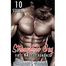 GAY: STRAIGHT TO GAY: OLDER MAN FIRST TIME BUNDLE: MC Biker, MM Alpha Male Stories Box... Novel Collection Complete Series Book 1