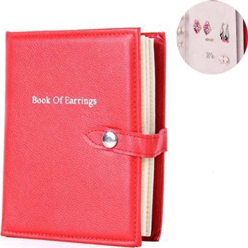 (Creation Core Jewelry Earrings Display Book Ear Studs Portable Storage Book With A)