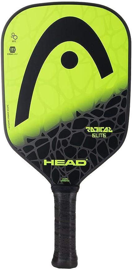 HEAD Fiberglass Pickleball Paddle - Radical Elite Paddle w/ Honeycomb Polymer Core & Comfort Grip