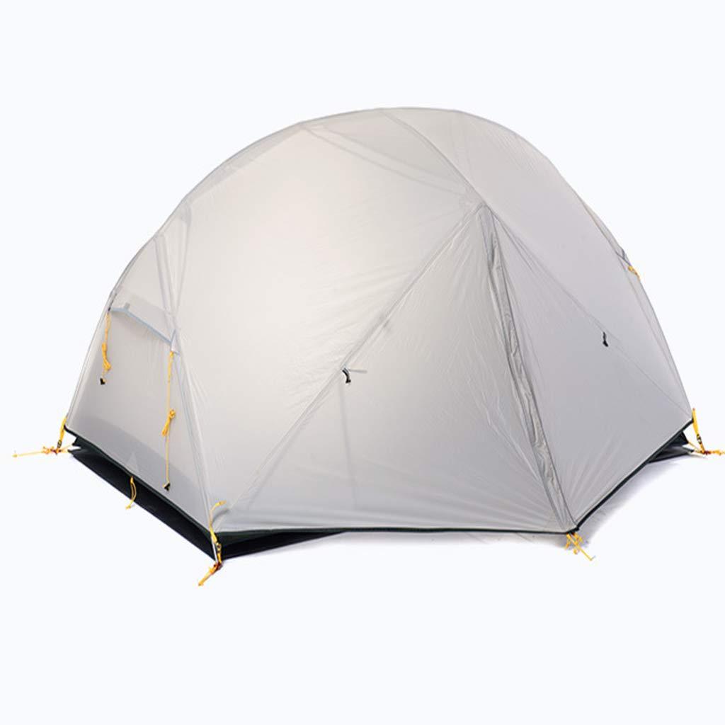LYX Außenzelt Doppeltes Zeltdoppelregensturm DREI Jahreszeiten Aluminiumpfostenzelt Im Freien Kampierendes Wanderndes Campingzelt Camping Reisen