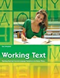 Working Text: Teaching Deaf and Second-Language Students to Be Better Writers (Working Texts (Gallaudet))