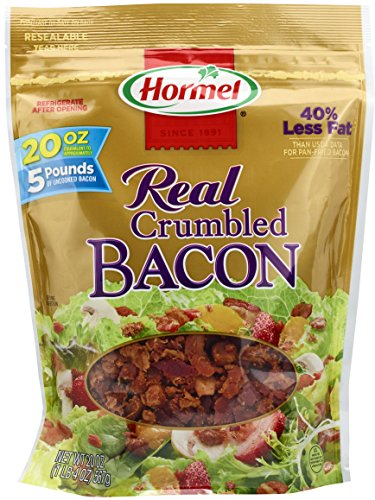 Recipes Bits Bacon (Hormel Real Crumbled Bacon, 20 Ounce)