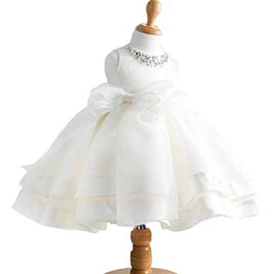 fbd88f7ccbab Amazon.com  Moon Kitty Baby Girl Dress Christening Baptism Gowns ...