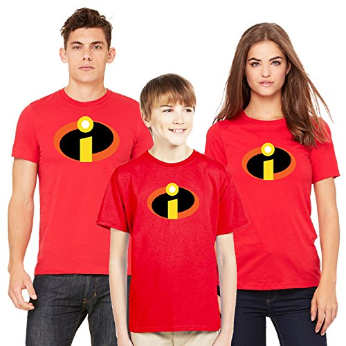 Babies R Us Halloween Shirts (Incredibles Logo Tee Shirt Halloween Costume for Baby Bodysuit Red 18)