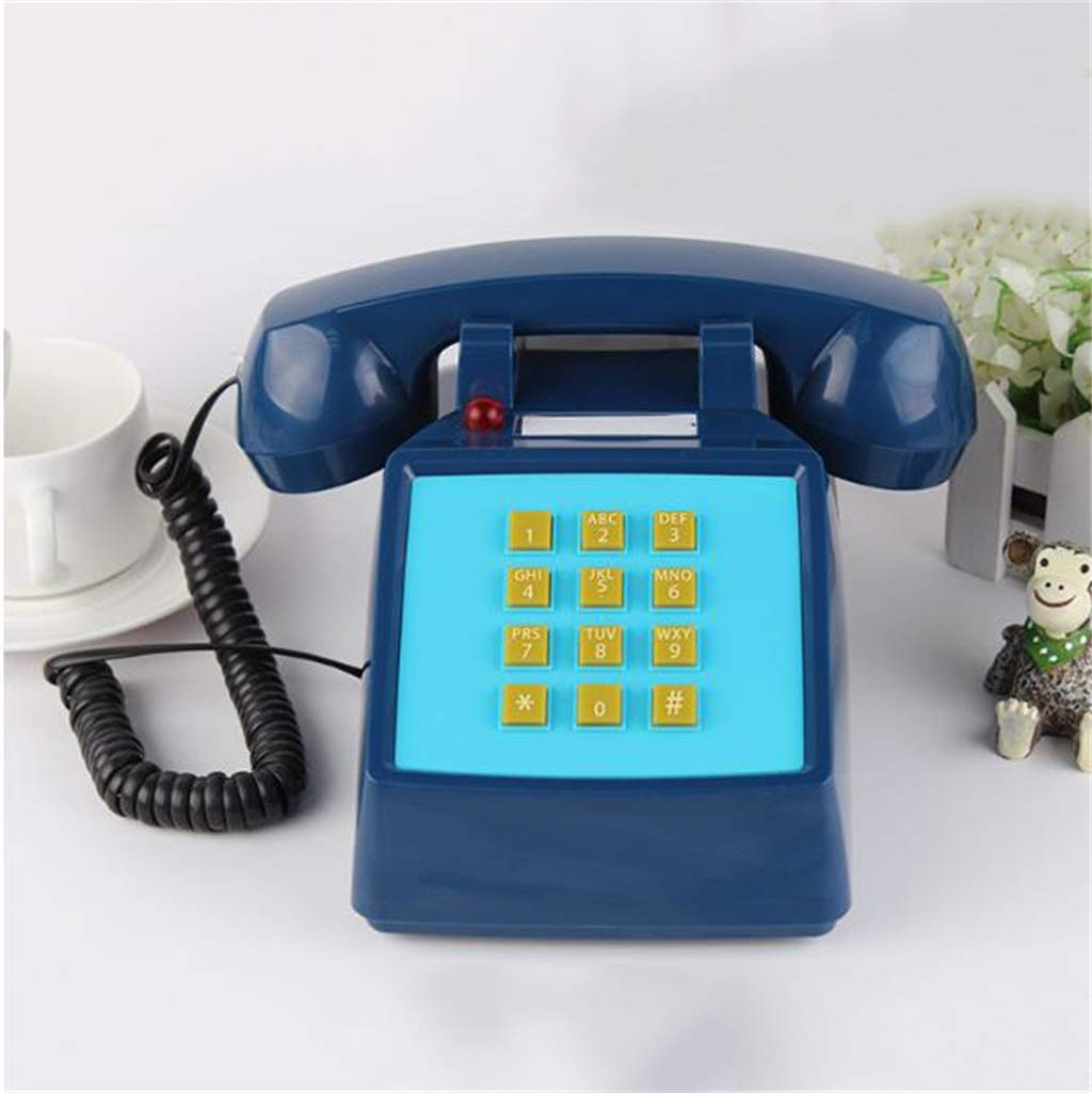 JGBHPNYX Rotary Dial Telephone Retro Style Phone Classic Desk Phone with Rotary Dialler by JGBHPNYX