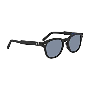 a1eff2f9fc Image Unavailable. Image not available for. Color  Montblanc Mens Mont  Blanc Men s Mb693s-F 51Mm Sunglasses
