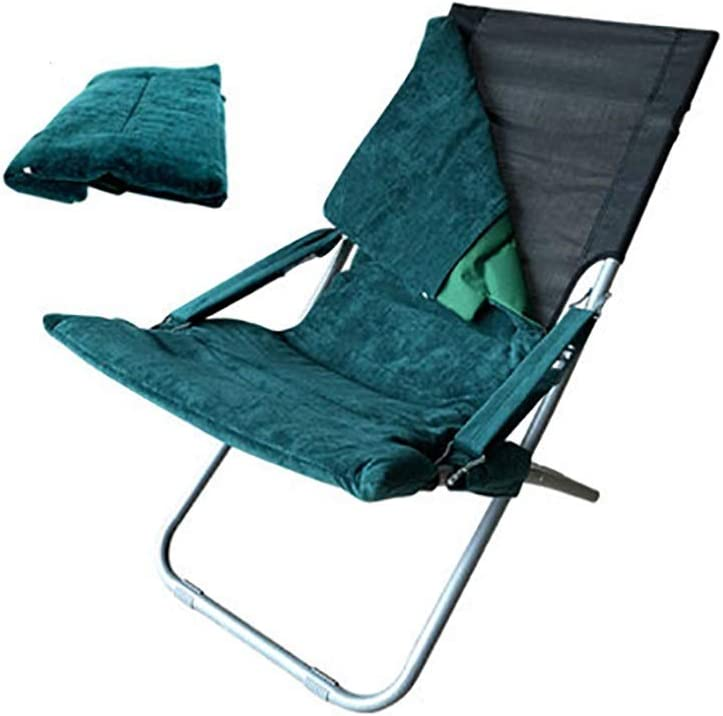 RENJUN Lazy Lounge Chair Portable Folding Multi-function Lounge Chair Office Nap Chair Multi-color Optional folding chair (Color : C) A