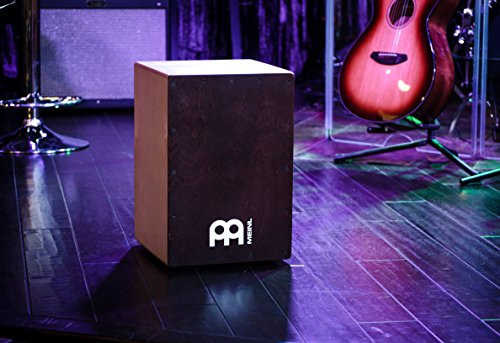 Meinl Cajon Box Drum with Internal Snares and FREE Bag - MADE IN EUROPE - Baltic Birch Wood Full Size, 2-YEAR WARRANTY (BC1NTWR) by Meinl Percussion (Image #1)