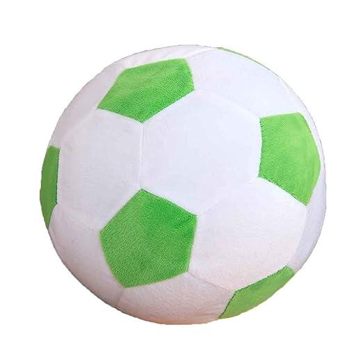 Floridivy Balón de fútbol de Dibujos Animados Almohada Relleno de ...
