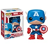 Funko Marvel Captain America Pop Vinyl Figure