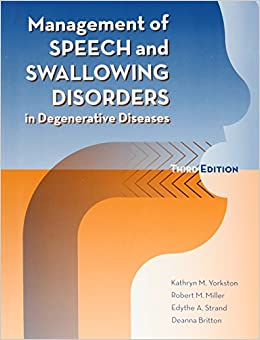 Ebook Descargar Libros Management Of Speech And Swallowing Disorders In Degenerative Diseases De PDF A PDF