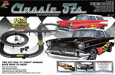 Life Like Classic 57s Electric Race Set - Chevy Nomads from Life Like