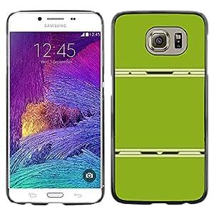 PC/Aluminum Funda Carcasa protectora para Samsung Galaxy S6 SM-G920 Abstract Plastic Minimalist Lines / JUSTGO PHONE PROTECTOR