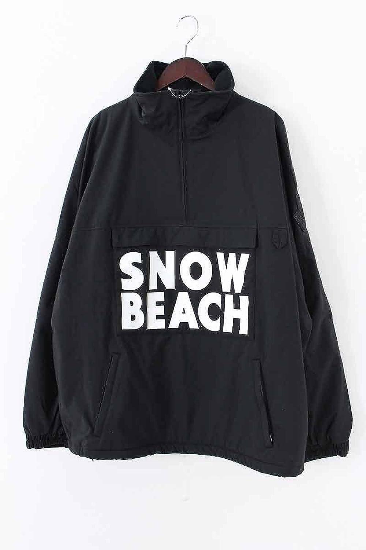 (ポロラルフローレン) Polo Ralph Lauren 【SNOWBEACH HALF ZIP JACKET PULLOVER】ハーフジップナイロンジャケット(L/ブラック) 中古 B07DQF9BYM