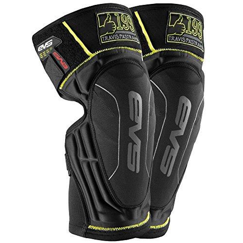 EVS Sports Men's Knee Pad (TP199 Lite Pair) (Black, X-Large), 2 Pack ()