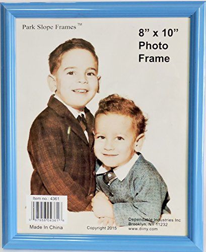 8 X 10 Photo Frame- Light Blue
