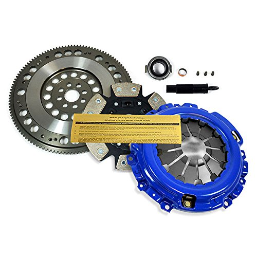 - EFT STAGE 3 CLUTCH KIT+CHROMOLY FLYWHEEL fits ACURA HONDA K20A2 K20A3 K20Z1 K24
