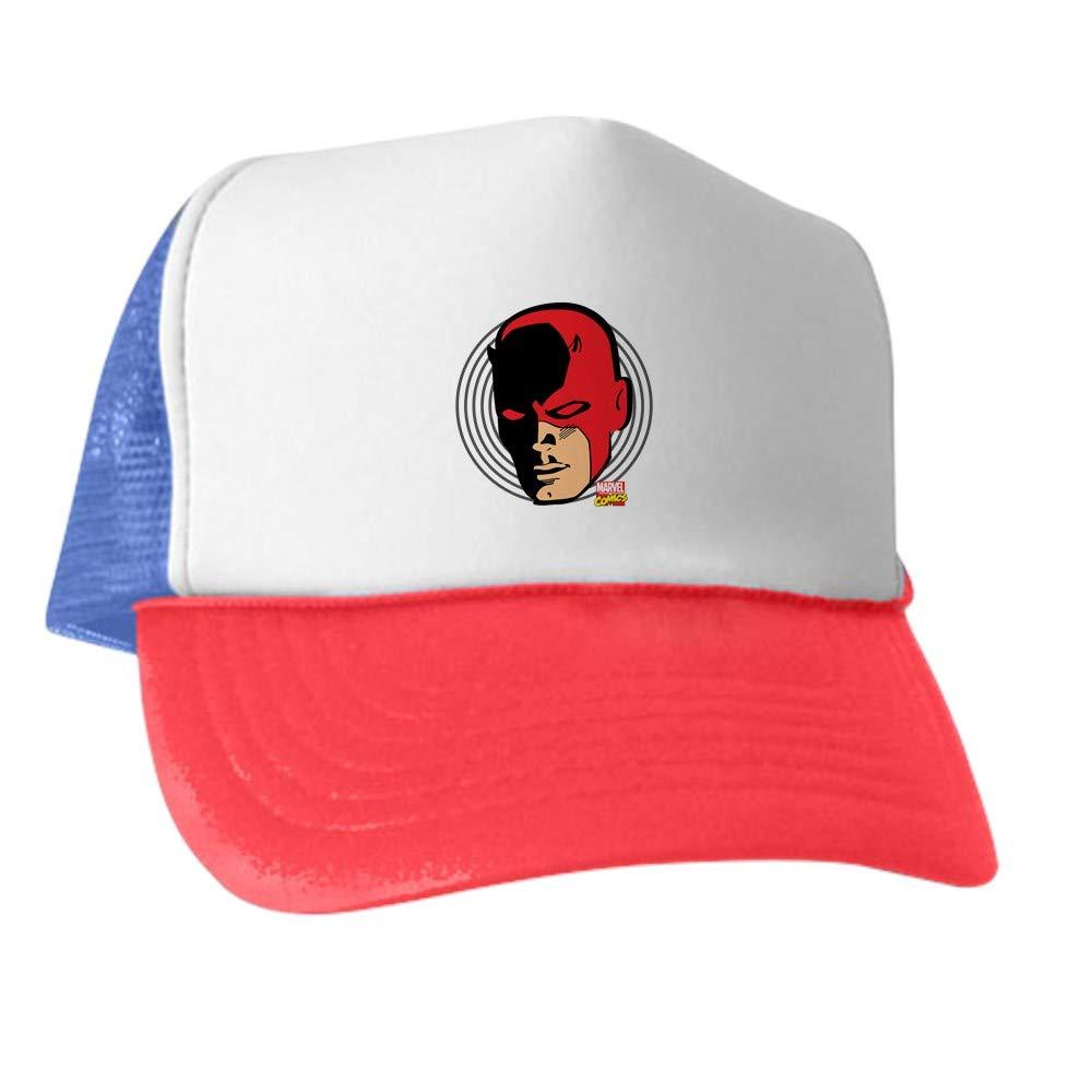 851fc84a8a7 Amazon.com  CafePress Daredevil Face Trucker Hat