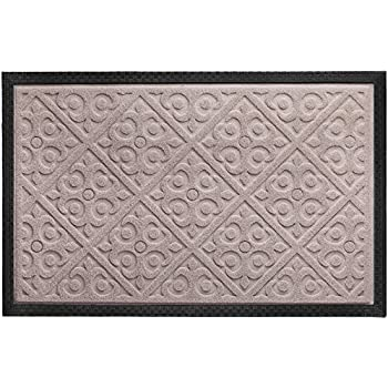 Elogio Door Mat Indoor Outdoor Doormats Outside Effective Scraping Of Dirt  Patio Grass Moisture Snow Dust