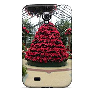 Hot Cnwkrrw1703BxuLU Green House Christmas Tpu Case Cover Compatible With Galaxy S4