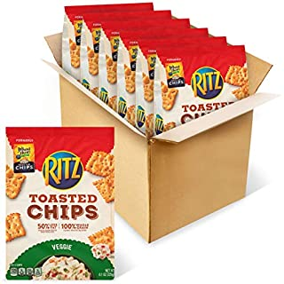 RITZ Toasted Chips Veggie, 6 - 81 oz Bags