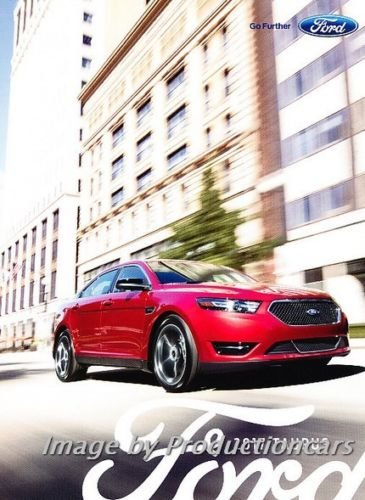 - 2017 Ford Taurus and SHO 20-page Original Car Sales Brochure Catalog