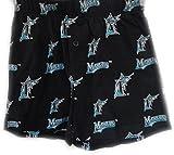 Sideline Apparel MLB Florida Marlins Boys Girls Youth or Petite Blue Keynote Boxer Shorts