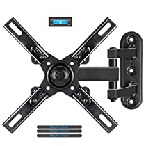 Mounting Dream MD2413-P Full Motion TV Wall Mount Bracket for 26-55 Inch LED, LCD, Flat Screen TVs