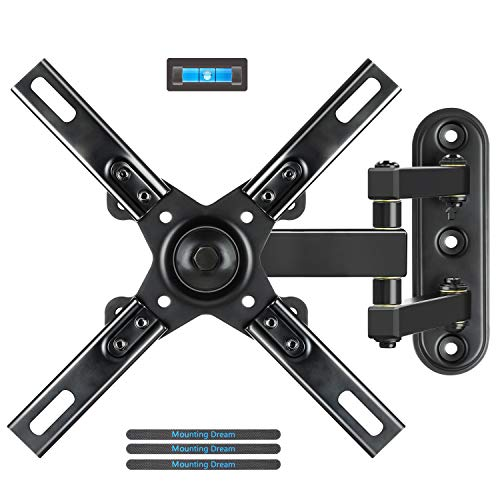 2 Full Motion Tv Wall Mount Bracket With Articulating Arms For Most 17-39 Inches Led, Lcd Tv, Mount Up To Vesa 200X200Mm ()