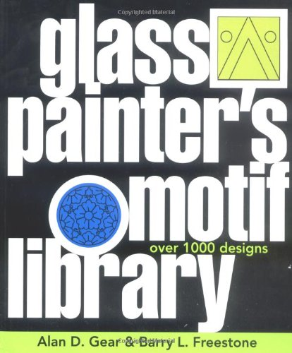 Glass Painter's Motif Library: Over 1000 Designs (Import)