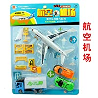 H2solution Airplanes Vehicle Playset - Set of 12 Pull Back, Space Shuttle Toys Toys for Boys and Girls