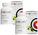 Apocaps CX Apoptogen Formula for Dogs - 180 Capsules Total (2 Bottles with 90 per Bottle)