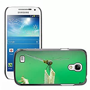 Hot Style Cell Phone PC Hard Case Cover // M00047116 fly insects going dragonfly macro // Samsung Galaxy S4 MINI GT-i9190 i9192 i9195