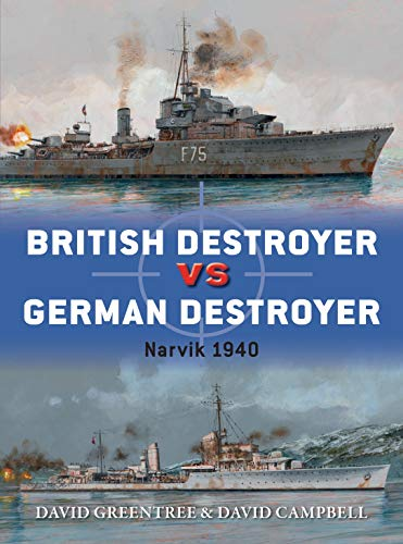 British Destroyer vs German Destroyer: Narvik 1940 (Duel)