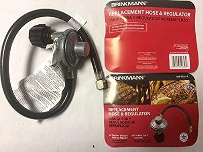 "Brinkmann Grill Hose & Regulator 812-7224-S Regulator Hose Brand New 22"" Hose .#GH45843 3468-T34562FD145971"
