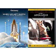 Space Shuttle Collection - When We Left Earth (Limited Edition Steelbook) & Apollo 13 (Collector's Edition) 5-DVD Bundle